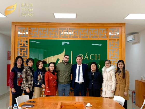 Bach Thao Duoc cooperates with the foreign partner to bring products to international markets